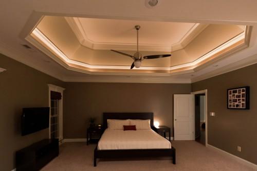 ديكورات اسقف غرف نوم مبهرة   ماجيك بوكس