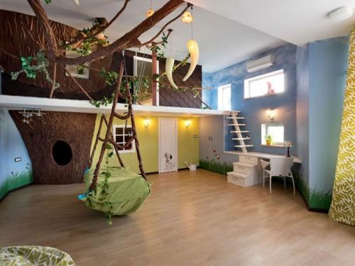 صور - اجمل تصميمات اسقف غرف الاطفال