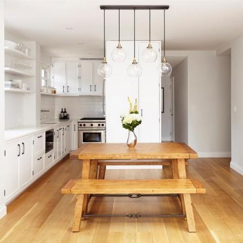 صور - كيف يمكنك اضاءة المطبخ بـ 8 من انواع الاضاءة المختلفة ؟