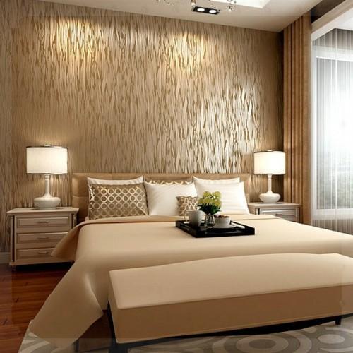 اشكال من ورق الجدران لغرف النوم