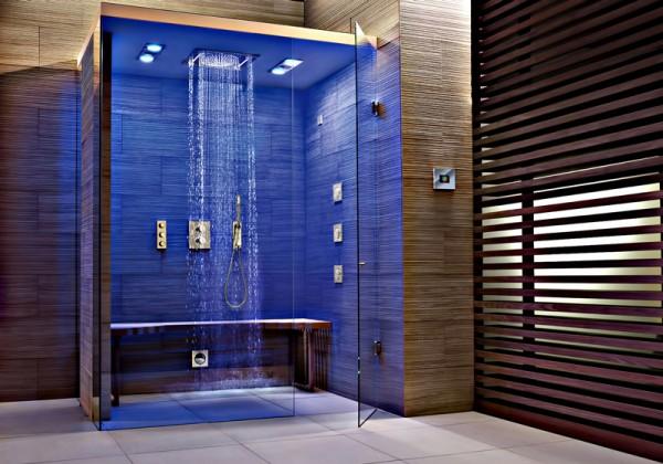 صور - كيف تنفذ التقنيات الحديثة فى ديكور الحمام؟