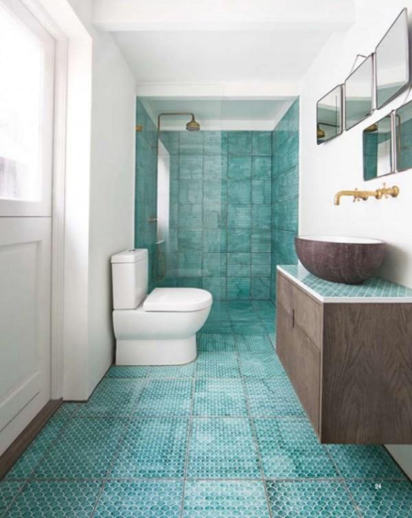 الوان بلاط حمامات عصرية باشكال رائعة ماجيك بوكس