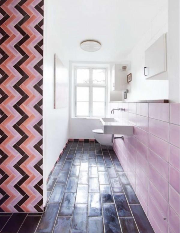 صور - الوان بلاط حمامات عصرية باشكال رائعة