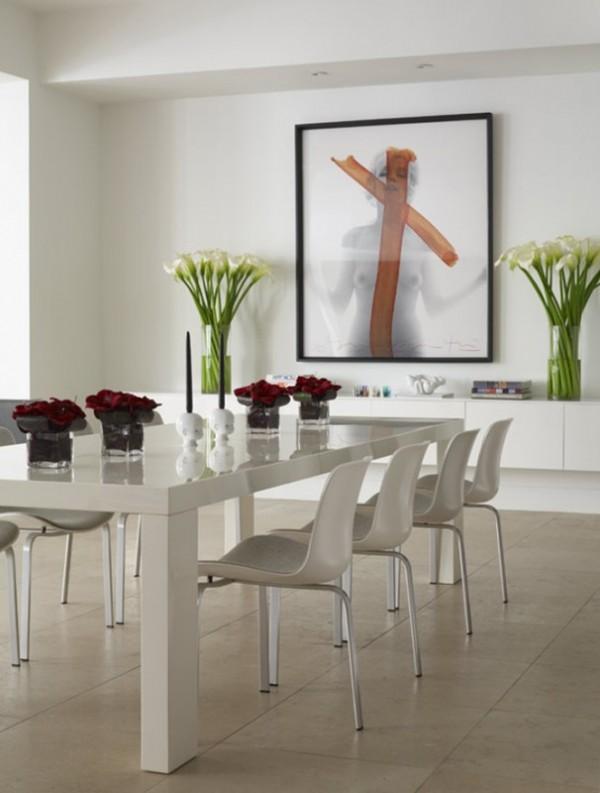 صور - كيف تزينين غرفة الطعام بالحد الادنى من الديكورات ؟