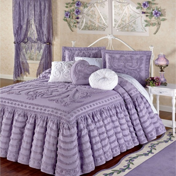 صور - مفارش غرف نوم رومانسية و مودرن