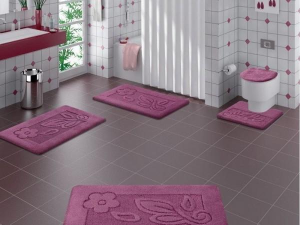 صور - احدث تصميمات مناشف و سجاد الحمام