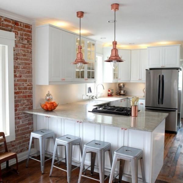 اجمل اشكال اضاءة المطبخ الحديثة