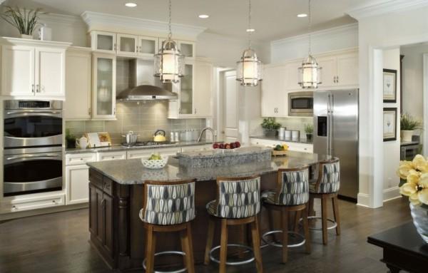 صور - اجمل اشكال اضاءة المطبخ الحديثة