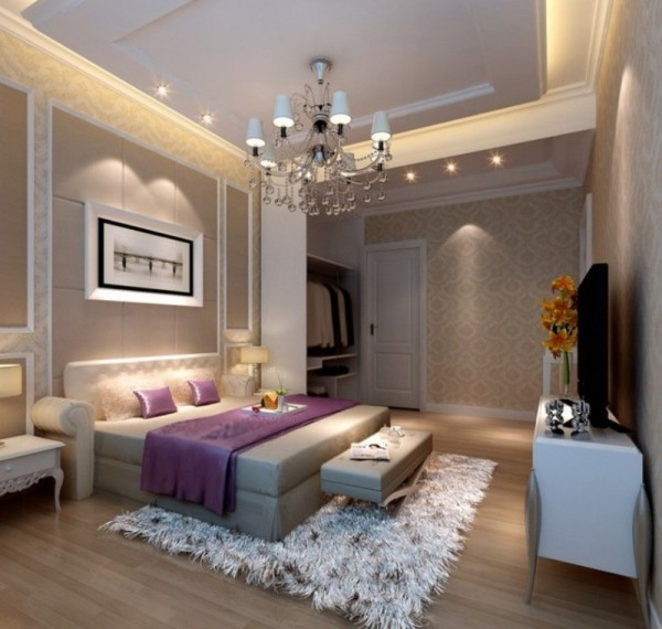 Bedroom Lighting Design Artwork For Master Bedroom Emo Boy Bedroom Kids Bedroom Interior Design Ideas: انارة غرف النوم بطريقة حديثة