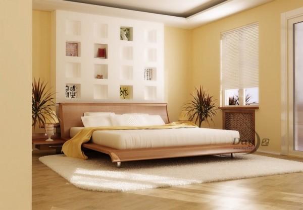 صور - تصاميم غرف نوم بسيطة لنوم هادئ