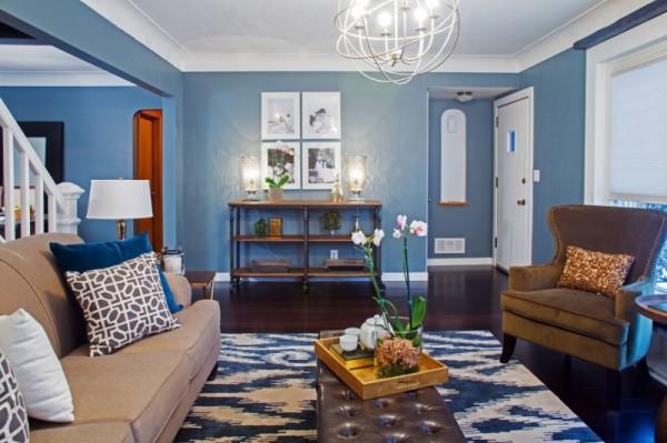 صور - تصميمات غرف المنزل بملامح الديكور الفرنسي