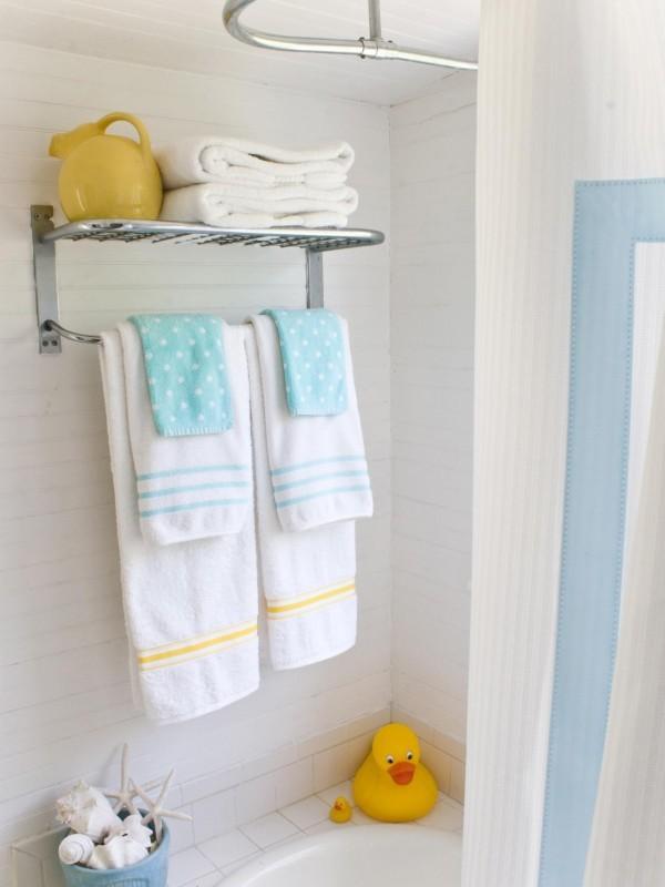 صور - افكار لترتيب الحمام و المناشف يمكنك صنعها بنفسك