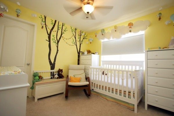 صور - كيف تصميم غرف نوم اطفال حديثى الولادة ؟
