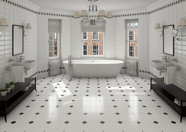 صور - كيفية اختيار ديكورات سيراميك الحمامات ؟
