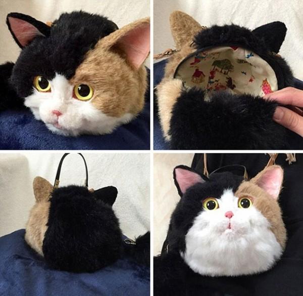صور - موضة حقائب القطط اليابانية الغريبة