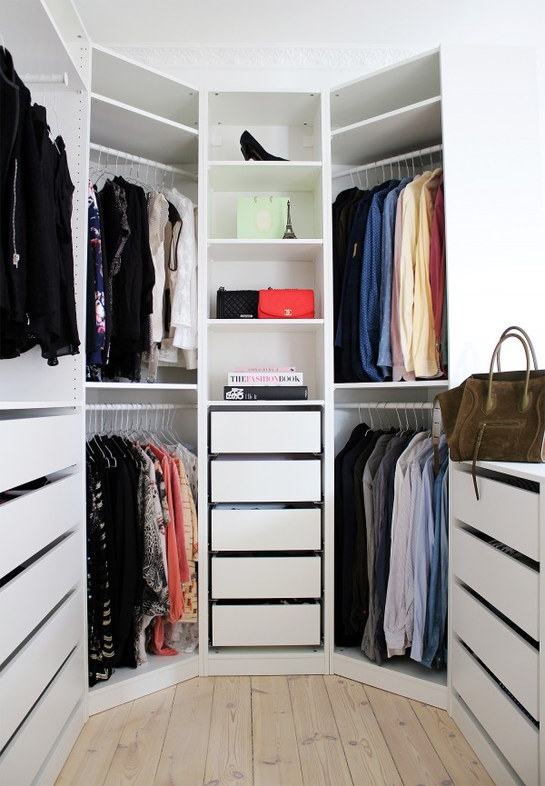 صور - كيف يمكنك تجديد و ترتيب خزانة الملابس بسهولة ؟