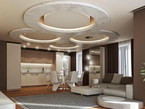 ديكورات اسقف معلقة رائعة للمنازل الحديثة