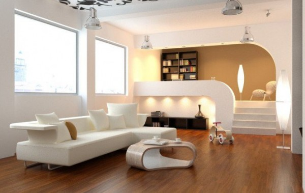 صور - افكار ديكورات غرف معيشة مودرن جذابة و انيقة