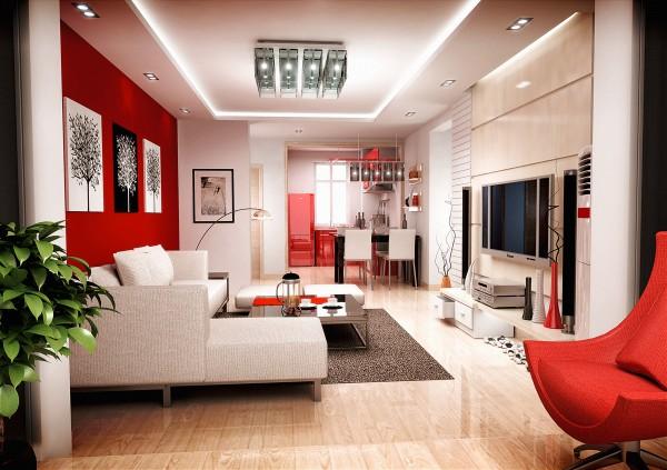 صور - افكار جديدة لديكورات غرف معيشة مودرن رائعة