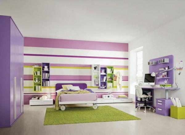 الوان و ديكورات غرف نوم اطفال جميلة جدا بالصور