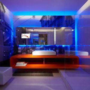 افكار مبتكرة فى اضاءة الحمامات العصرية بالصور