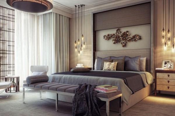 بالصور اضاءة غرف النوم للمنازل الحديثة   ماجيك بوكس