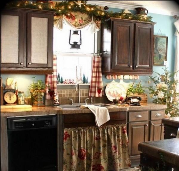 صور - افكار و تصاميم ستائر مطبخ رائعة و جذابة بالصور