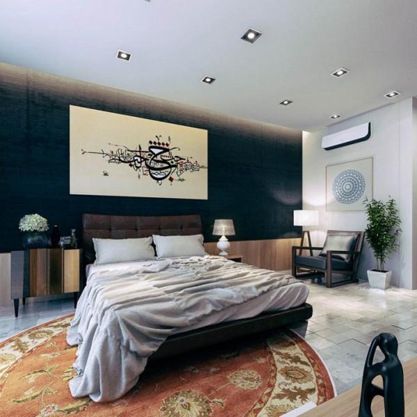 صور - كيفية اضافة كراسى فى غرف نوم كبيرة ؟