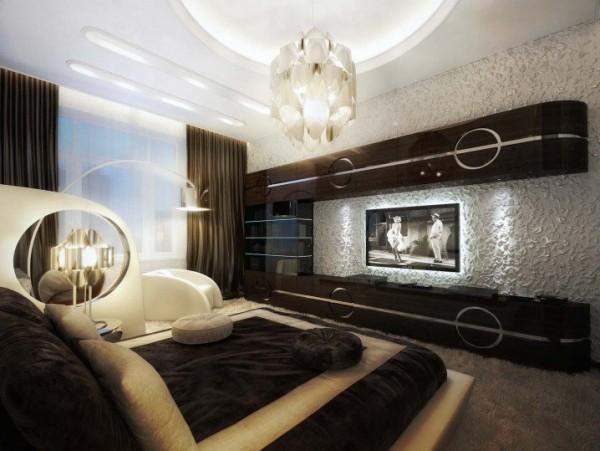 صور - اجمل ديكورات غرف نوم باللون البنى روعة بالصور