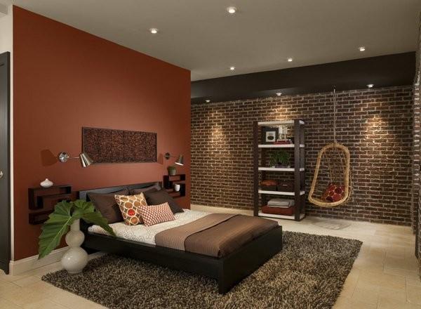 اجمل ديكورات غرف نوم باللون البنى روعة بالصور   ماجيك بوكس