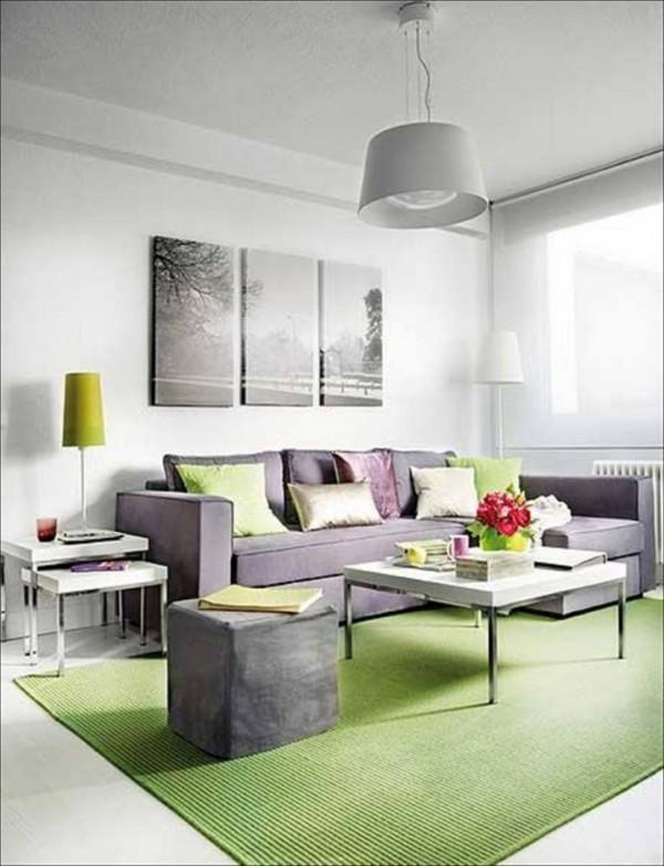 صور - بالصور ديكورات غرف معيشة بالوان الربيع ولا اروع