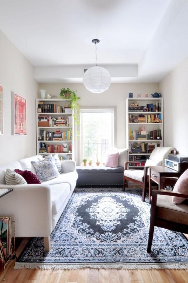 تصاميم غرف معيشة صغيرة شيك جدا للمنازل الحديثة   ماجيك بوكس