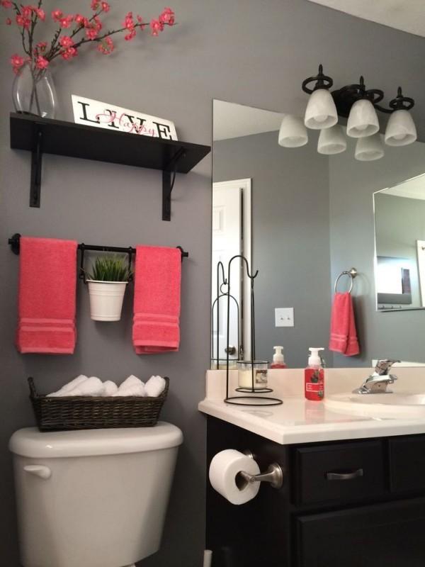 صور - تصاميم رفوف حمامات جذابة
