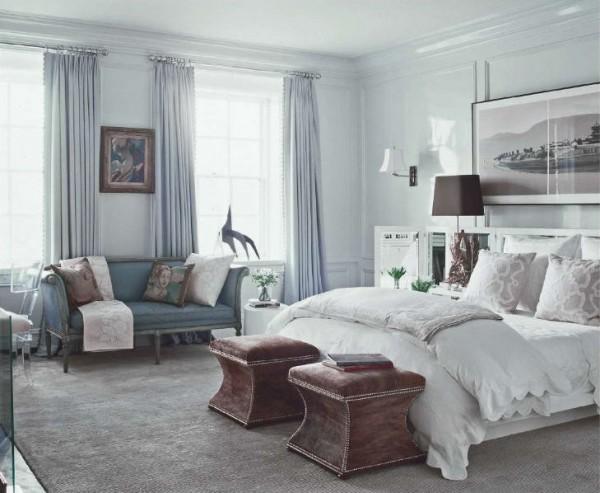 ديكورات غرف نوم مذهلة بالوان باردة ماجيك بوكس
