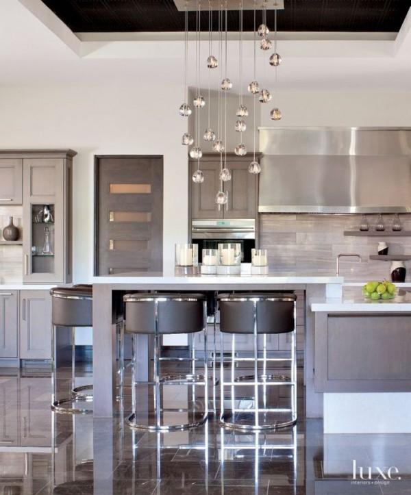 صور - كيف تختارين نجف للمطبخ المودرن ؟