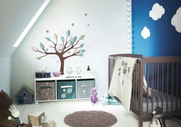 صور - ديكورات رقيقة لغرف الاطفال حديثى الولادة