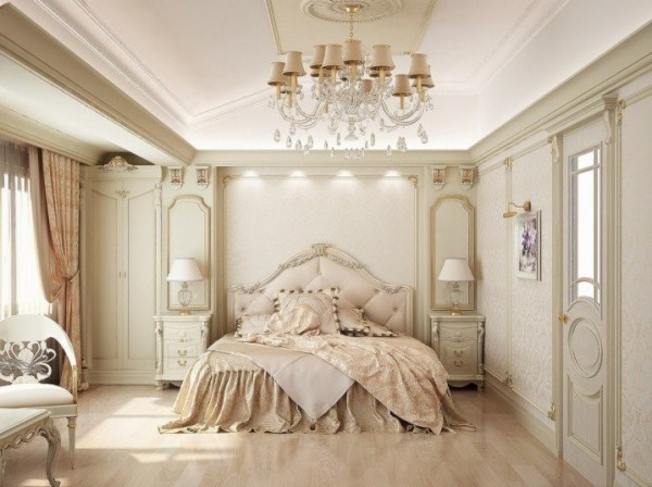 صور - اجمل تصاميم غرف نوم فرنسية انيقة