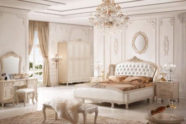 اجمل تصاميم غرف نوم فرنسية انيقة   ماجيك بوكس