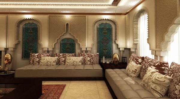 صور - اجمل تصاميم الديكور المغربى للمنازل
