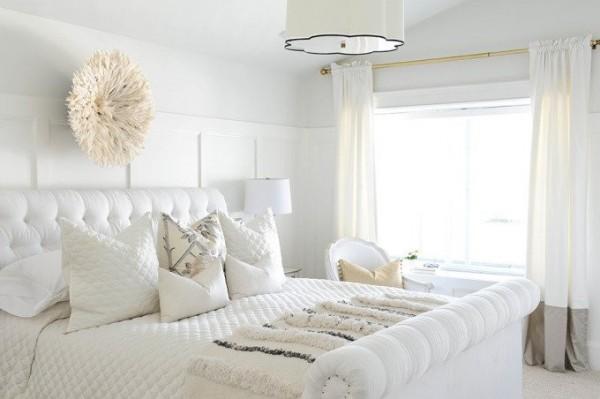 صور - اشيك تصاميم غرف نوم بيضاء مودرن