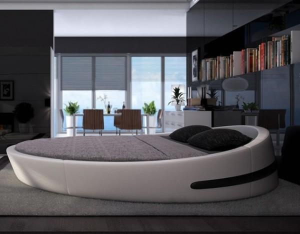تصاميم غرف نوم دائرية فخمة   ماجيك بوكس