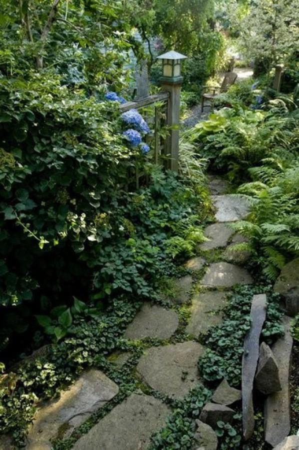 صور - افكار رائعة لتصميم ممرات الحدائق المنزلية