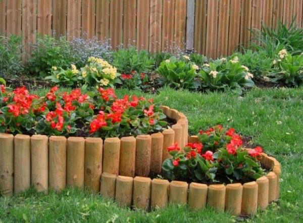 صور - شاهدى بالصور افكار لتنسيق الحدائق المنزلية بالخشب