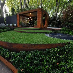 شاهدى بالصور افكار لتنسيق الحدائق المنزلية بالخشب