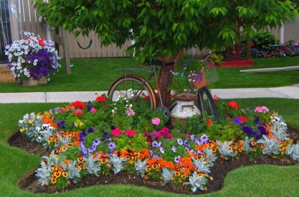 صور - كيف يمكنك تزيين الحدائق المنزلية بافكار بسيطة ؟