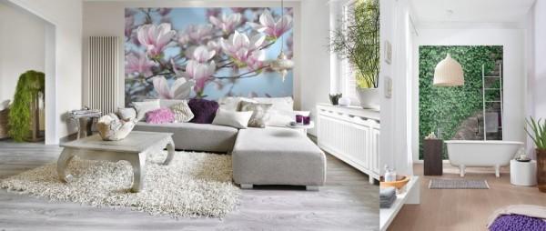 صور - ورق جدران ثلاثي الابعاد بتصميمات روعة
