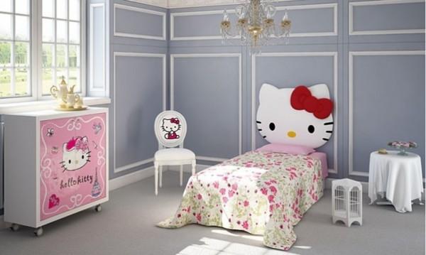 صور - اجمل تصميمات غرف نوم هيلو كيتي للفتيات