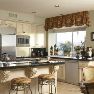 اجمل موديلات ستائر المطبخ المثيرة