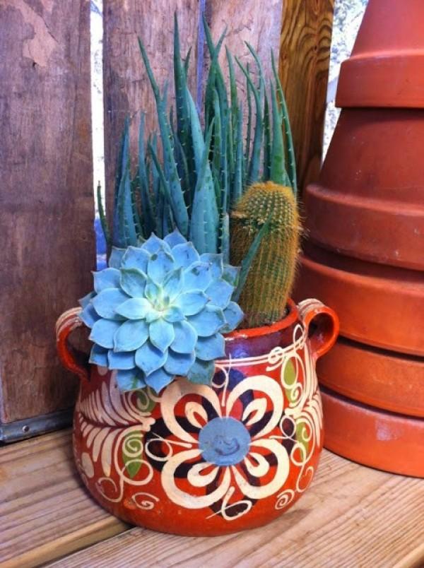 اجمل اشكال حاويات للنباتات لتزيين ديكورات الحدائق المنزلية