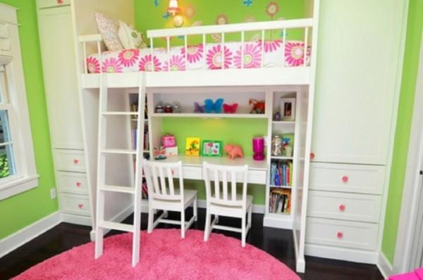 صور - اشكال سرير الاطفال الخشب للمساحات الصغيرة